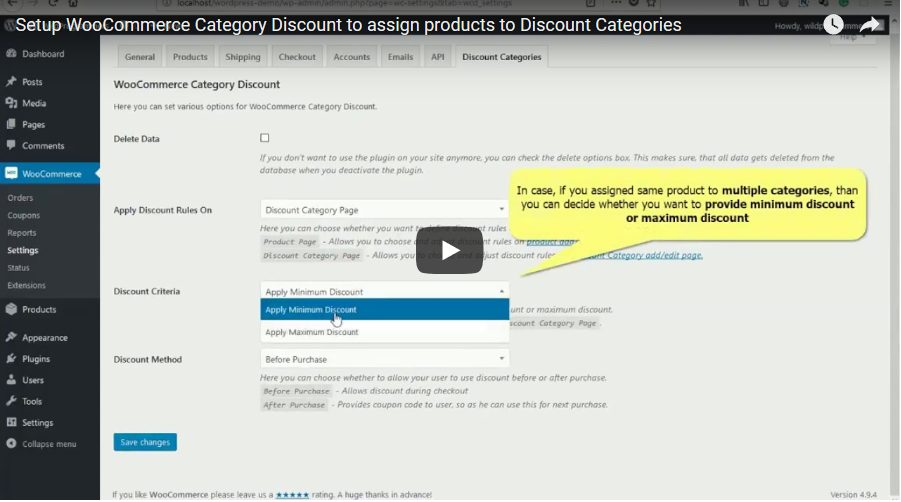 WooCommerce Category Discount - 4
